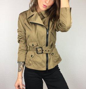 Blauer . Jacke khaki braun beige m dünn