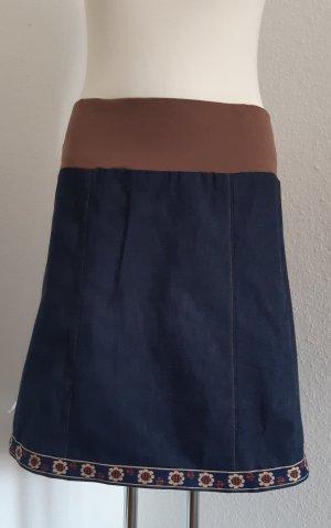 Blauer Jeansrock Gr. 42
