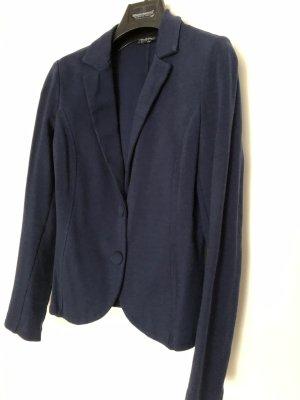 Rinascimento Blazer in jersey blu Cotone