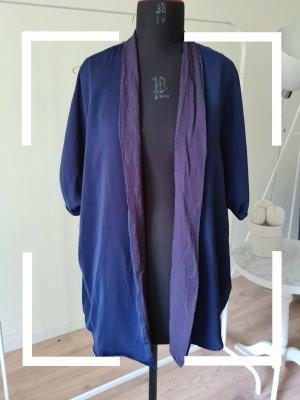 H&M Kimono grey lilac-blue