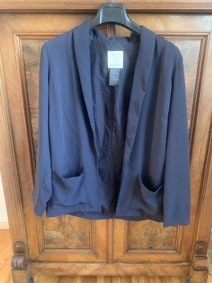 Urban Outfitters Blazer in jersey blu scuro