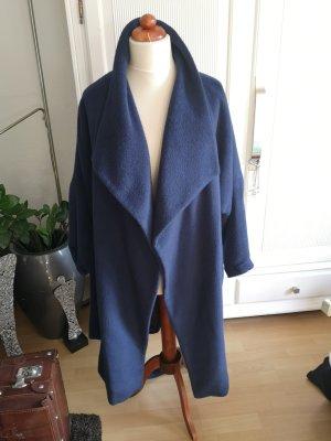 Blauer Mantel Oversize