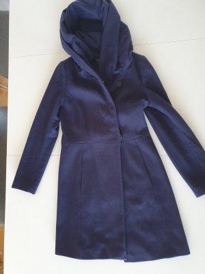 Blauer Mantel von Hallhuber Größe 34