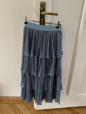 Simplee Apparel Pleated Skirt cornflower blue