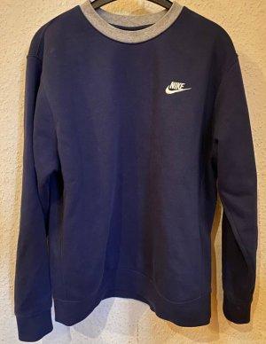 Blauer Nike Pullover