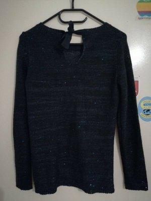 Promod Sweter z okrągłym dekoltem niebieski