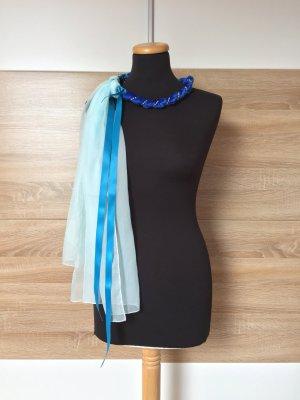 Bijoux pour la tête multicolore tissu mixte