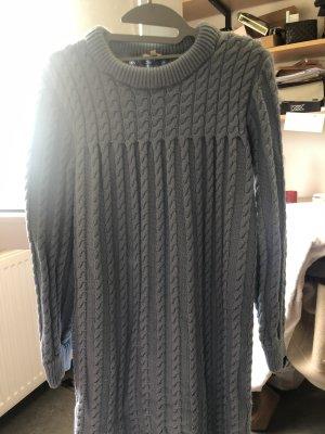 Sweaterjurk azuur