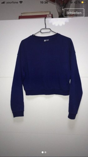 H&M Pull long bleu foncé