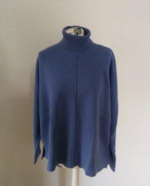 Armedangels Turtleneck Sweater blue-light blue