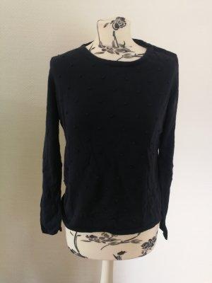 Armedangels Kraagloze sweater blauw