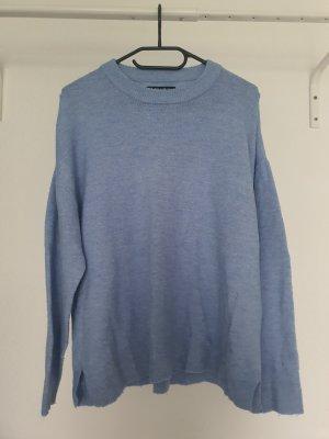 Blauer Pullover Größe L