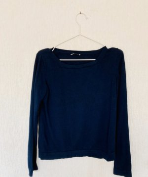 Blauer Pullover More&More 34