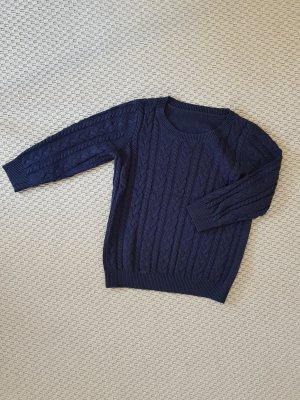 blauer Pullover von H&M