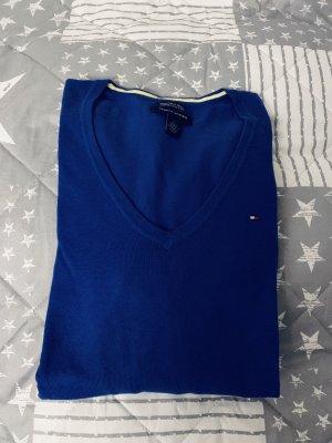 Blauer Pullover von Tommy Hilfiger Größe M