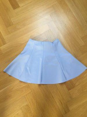 Bershka Skaterska spódnica błękitny