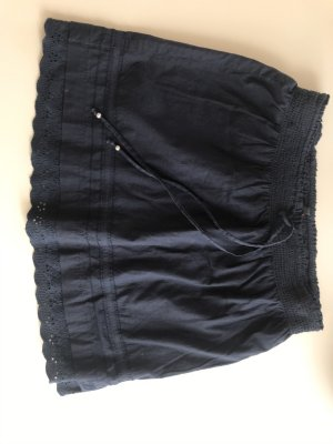 Tom Tailor Spódnica midi ciemnoniebieski