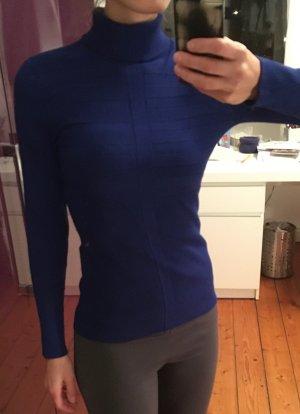 Morgan Maglione dolcevita blu Viscosa