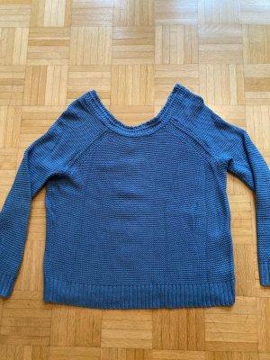 Blauer Roxy Strick Pullover