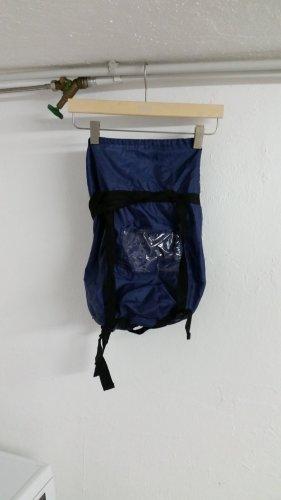Blauer Rucksack ca 30 ×40 cm