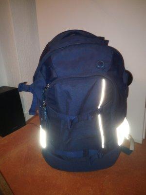 blauer Rucksack von Satch