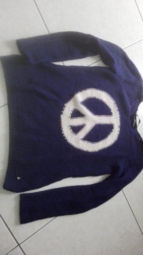Blauer Set Pullover
