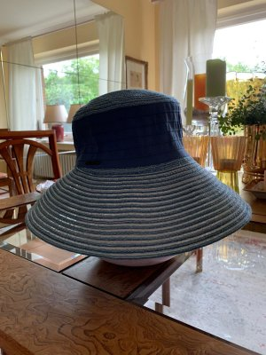 Seeberger Cappello parasole grigio ardesia