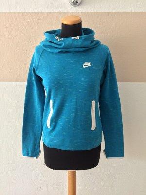 Blauer Sportpullover, Sweater von Nike, Gr. S