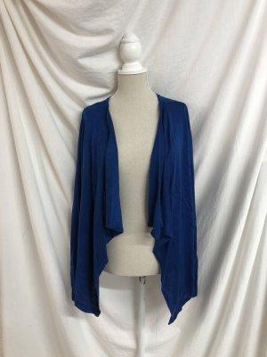 Blauer Strick Cardigan Plussize