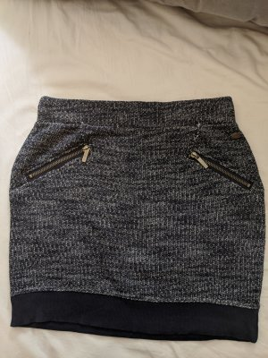 edc by Esprit Knitted Skirt white-dark blue