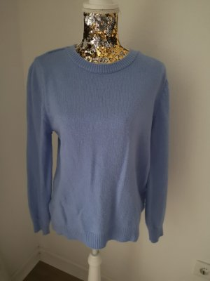 Defacto Knitted Sweater light blue-blue
