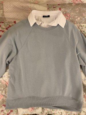 H&M Polarowy sweter błękitny