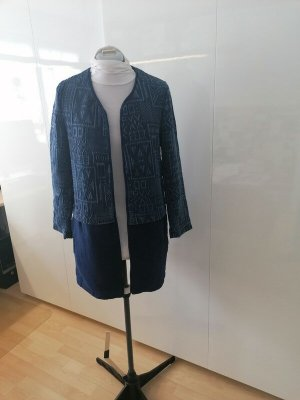 Blauer Übergangsmantel Zara