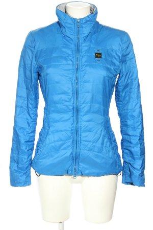 Blauer USA Daunenjacke blau Casual-Look