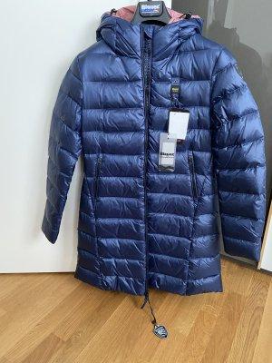 Blauer USA Płaszcz puchowy niebieski
