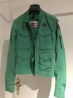 Blauer USA Short Jacket green polyacrylic
