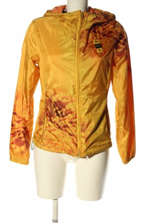 Blauer USA Outdoor jack sleutelbloem-bruin abstract patroon casual uitstraling