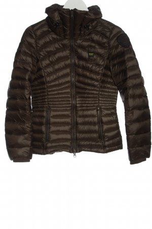 Blauer USA Pikowana kurtka brązowy Pikowany wzór W stylu casual
