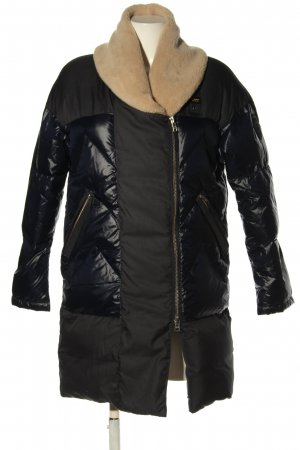 Blauer USA Quilted Jacket black-cream casual look