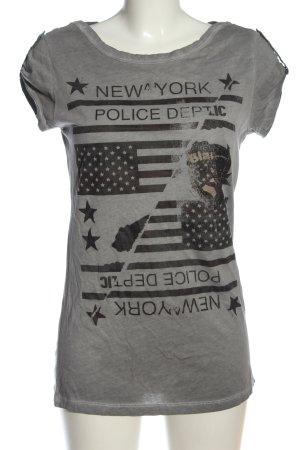 Blauer USA U-Boot-Shirt