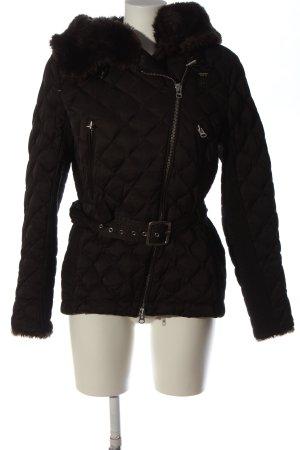 Blauer USA Cappotto invernale nero motivo trapuntato stile casual