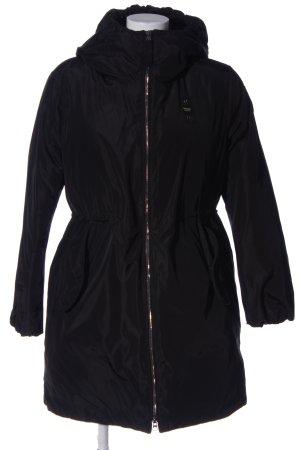 Blauer Giacca invernale nero stile casual
