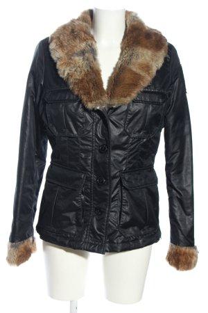 Blauer Kurtka zimowa czarny W stylu casual