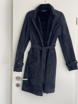 Armani Jeans Fake Fur Coat multicolored