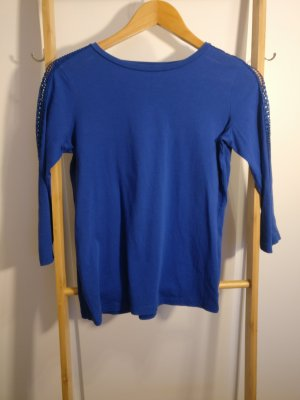 Blaues 3/4 Shirt