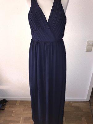 TFNC Vestido cut out azul oscuro