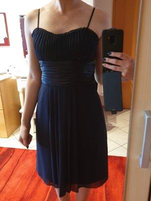 Blaues Abschlusskleid, Größe 32