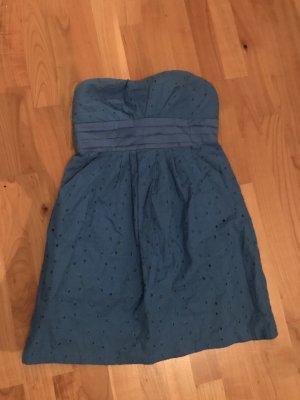 Orsay Balloon Dress steel blue-cornflower blue