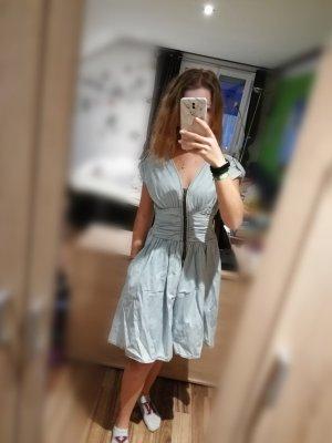 blaues ballerina kleid