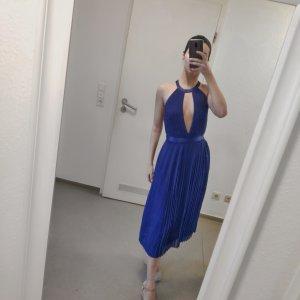Asos Vestido de baile azul-azul oscuro